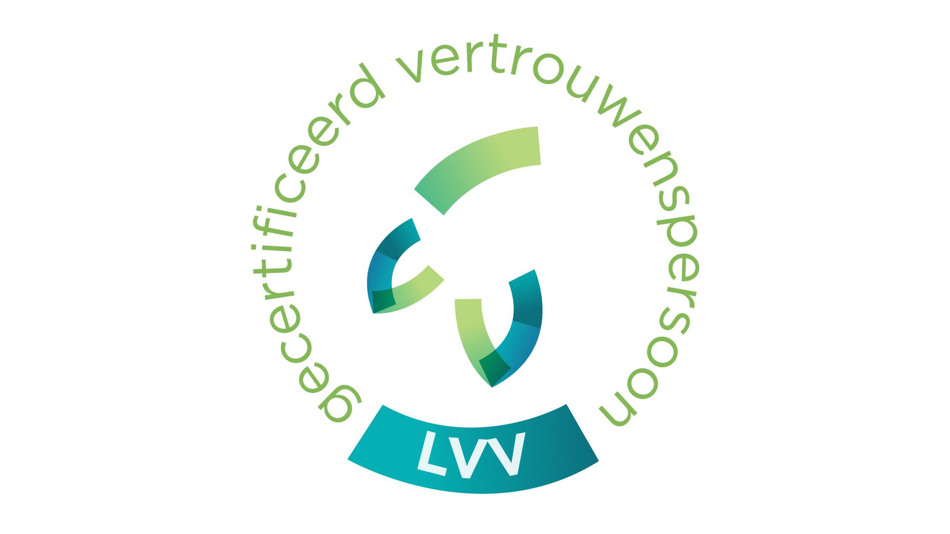 LVV logo gecertificeerd vertrouwenspersoon